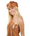 Oranje dames disco pet