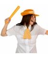 Olympische spelen set oranje